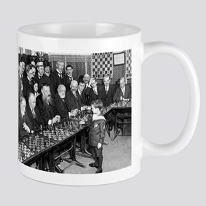 Samuel Reshevsky vs. The World Mugs
