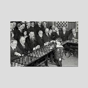 Samuel Reshevsky vs. The World Magnets
