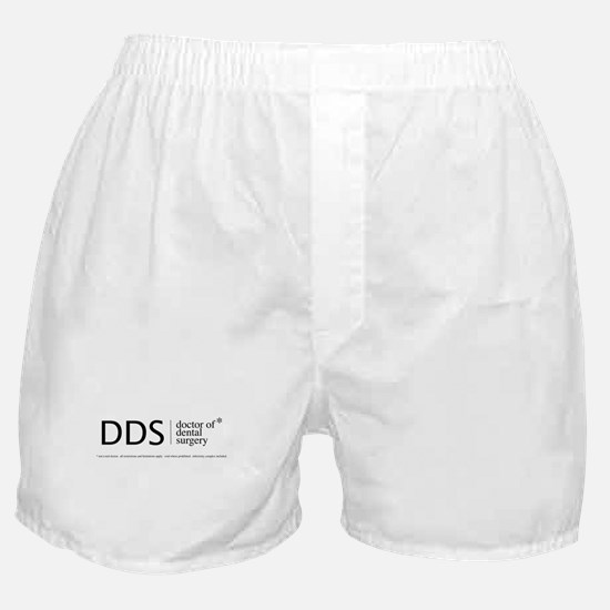 DDS, doctor of dental surgery Boxer Shorts
