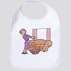 Furniture Saleswoman Bib
