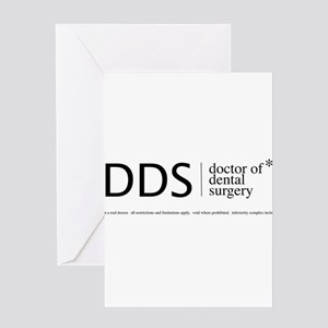 DDS, doctor of dental surgery Greeting Cards