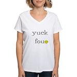 Yuck Fou Women's V-Neck T-Shirt