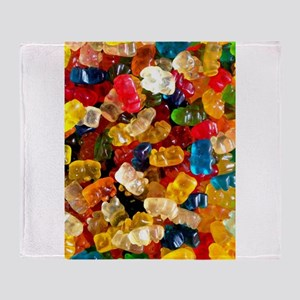 gummy bears candy Throw Blanket