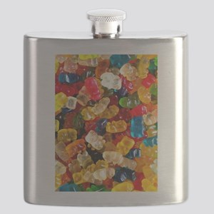 gummy bears candy Flask