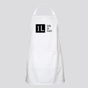 1L, life is hell Apron