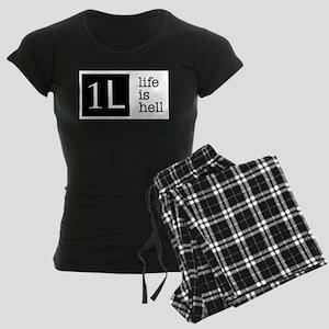 1L, life is hell Women's Dark Pajamas