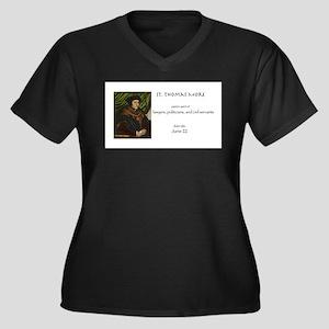 st. thomas more, patron saint of Plus Size T-Shirt