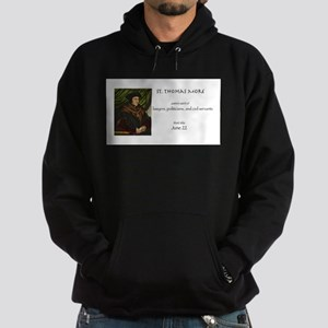 st. thomas more, patron saint of law Hoodie (dark)