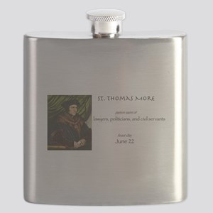 st. thomas more, patron saint of lawyers Flask