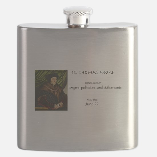 st. thomas more, patron saint of lawyers Flask