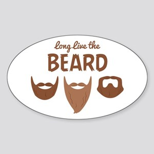 Long Live The Beard Sticker