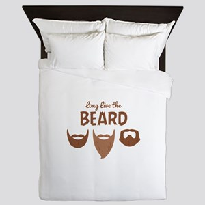Long Live The Beard Queen Duvet