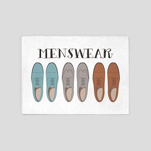 Menswear 5'x7'Area Rug