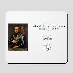st. ignatius of loyola, patron saint of Mousepad