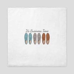 It's Business Time Queen Duvet