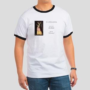 st. apollonia, patron saint of dentists T-Shirt