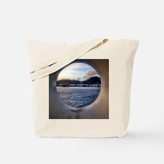 Unique Tsunami Tote Bag
