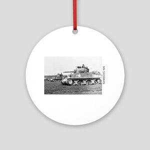 M4 SHERMAN Ornament (Round)