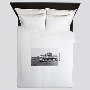 M4 SHERMAN Queen Duvet