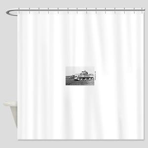 M4 SHERMAN Shower Curtain