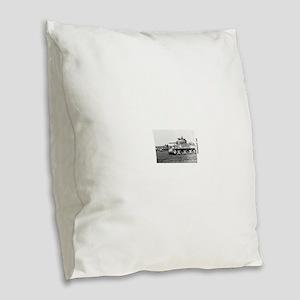 M4 SHERMAN Burlap Throw Pillow