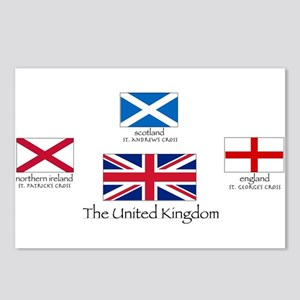 creation of UK flag Postcards (Package of 8)