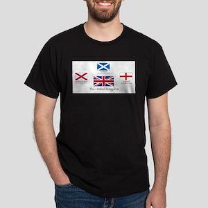 creation of UK flag T-Shirt