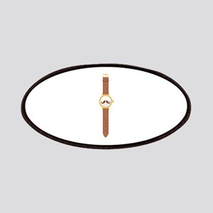 Wristwatch Watch Time Mustache Patches