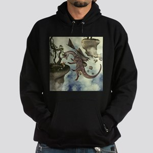 The fight, Dragon and dragon fighter Hoodie