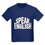 Speak English Kids Dark T-Shirt