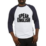 Speak English Baseball Jersey