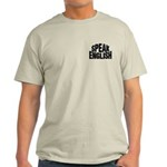 Speak English Light T-Shirt