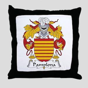 Pamplona Throw Pillow
