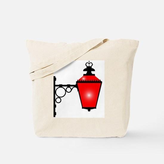 Unique Red light district Tote Bag