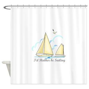Sailing Regatta Shower Curtains