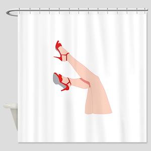 WOMANS LEGS Shower Curtain