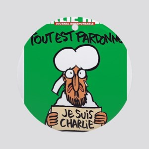 Je Suis Charlie Ornament (Round)