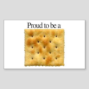 Cracker Pride Rectangle Sticker