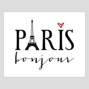 Paris bonjour Posters