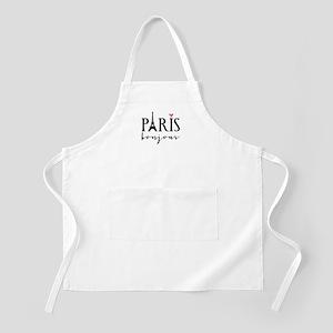 Paris bonjour Apron