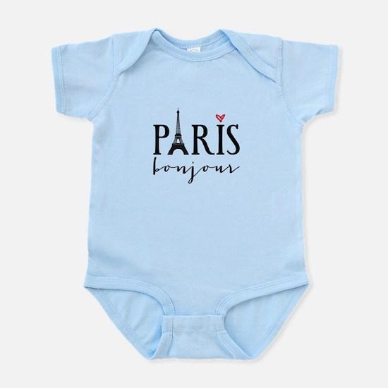 Paris bonjour Body Suit