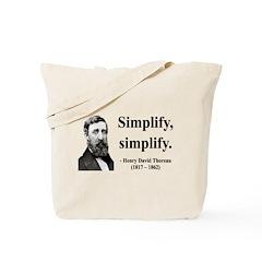 Henry David Thoreau 2 Tote Bag