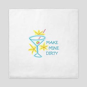 Make Mine Dirty Queen Duvet
