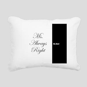Mr Right Ms Always Right duvet 9 Rectangular Canva