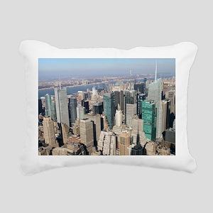 New York City USA Pro Ph Rectangular Canvas Pillow
