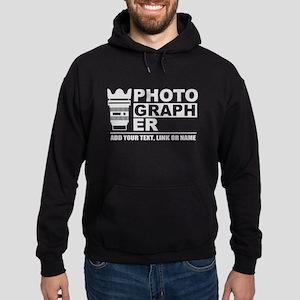 Custom Photographer Hoodie (dark)