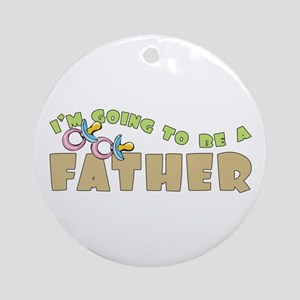 Father to Be Ornament (Round)