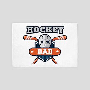 Hockey Dad 4' x 6' Rug