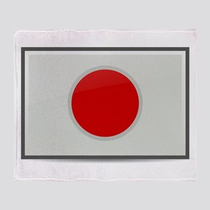 Japan Flag Throw Blanket