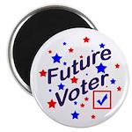 Future Voter Kids Light Magnet